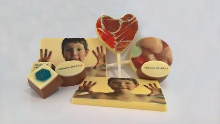 Afbeelding voor categorie Logochocolade