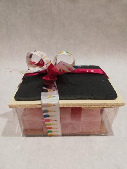 Afbeeldingen van Leisteentje met snoepjes - 6.60€